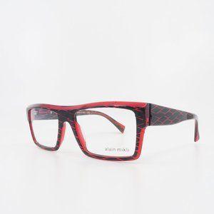 Alain Mikli Red and Black Glasses A0 3032 B0BW